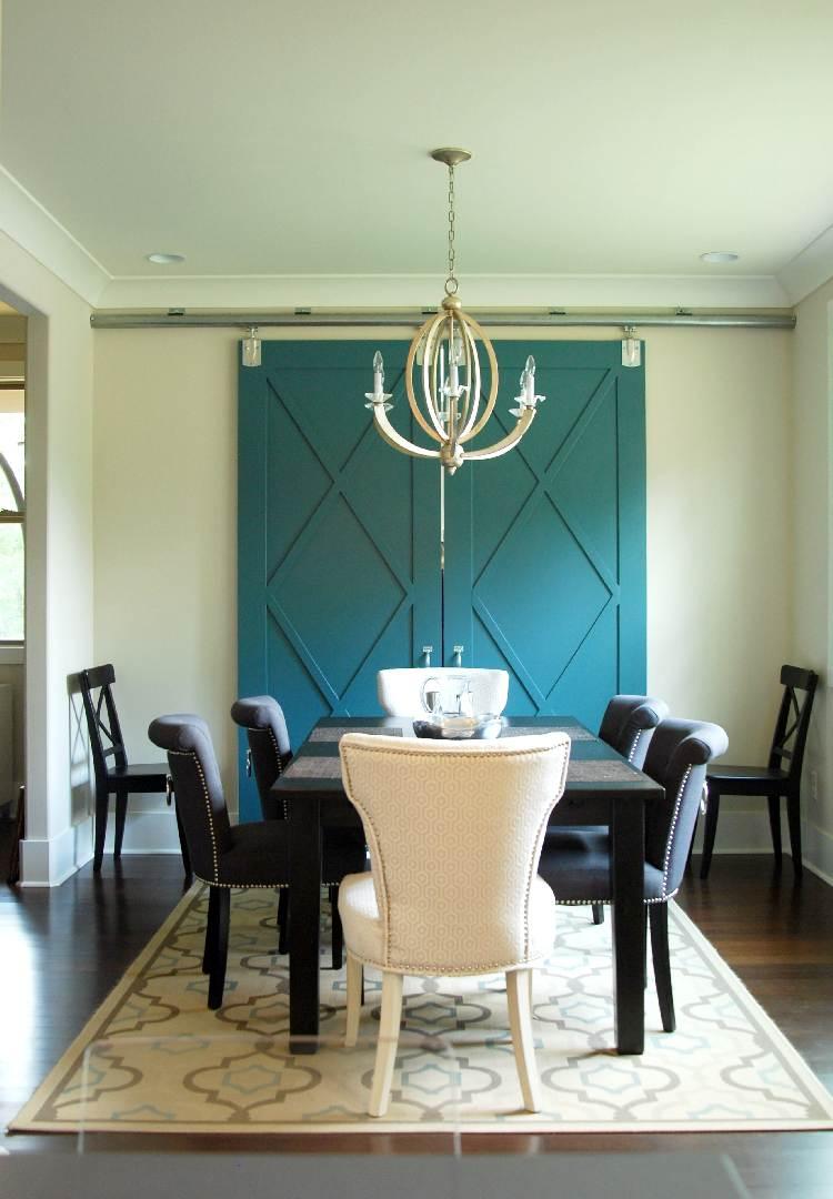 080 Greenville New Construction Sims Formal Dining Room Sliding Doors