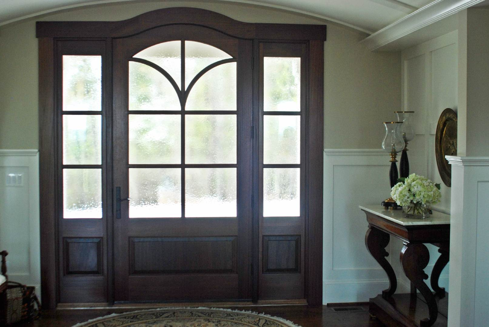 160 Greenville New Construction Lake Home Interior Custom Front