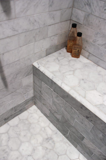 Beautiful marble basket weave.